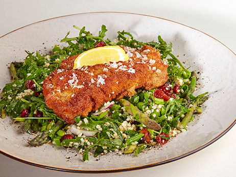Bulgur salat rucola